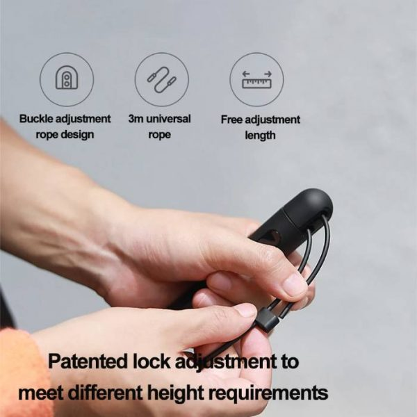 intelligent rope that its length can be adjusted easily